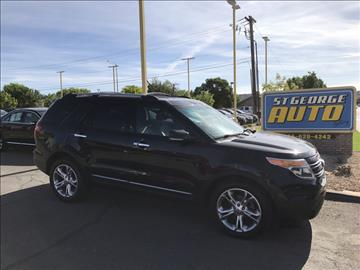 2012 Ford Explorer for sale at St George Auto Gallery in St George UT