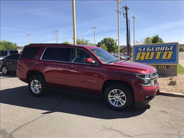 2015 Chevrolet Tahoe for sale at St George Auto Gallery in St George UT