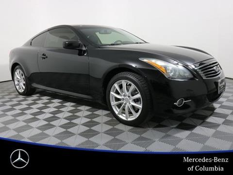 used sale for carfax photos infiniti coupe nationwide with infinity