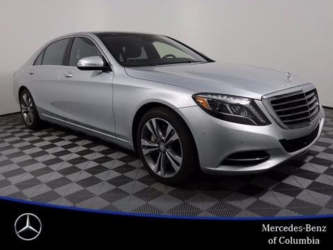 2015 Mercedes Benz S Class For Sale In Columbia, MO