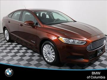 2016 Ford Fusion Hybrid for sale in Columbia, MO