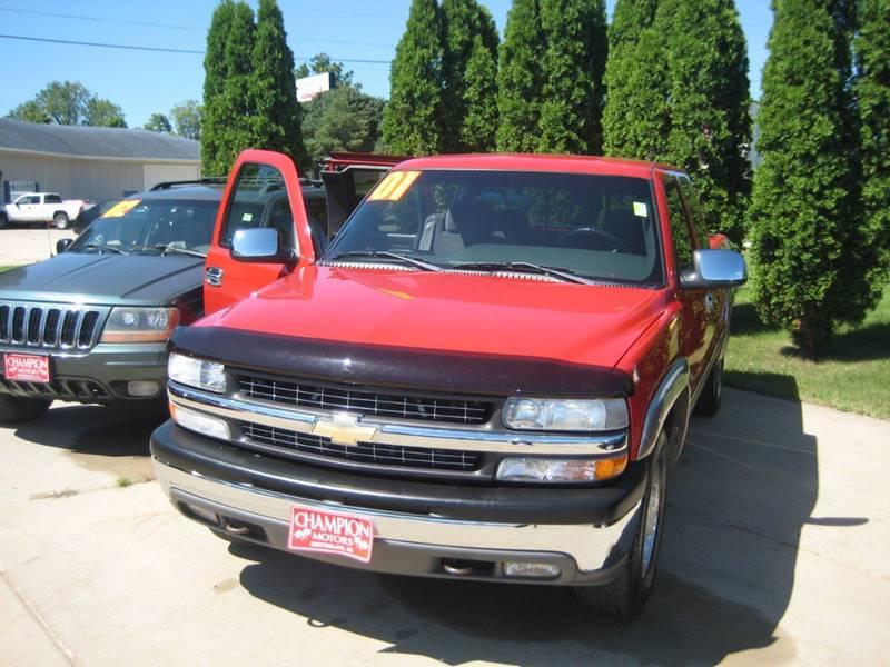 2001 Chevrolet Silverado 1500 LS In Waterloo IA - Champion Motors