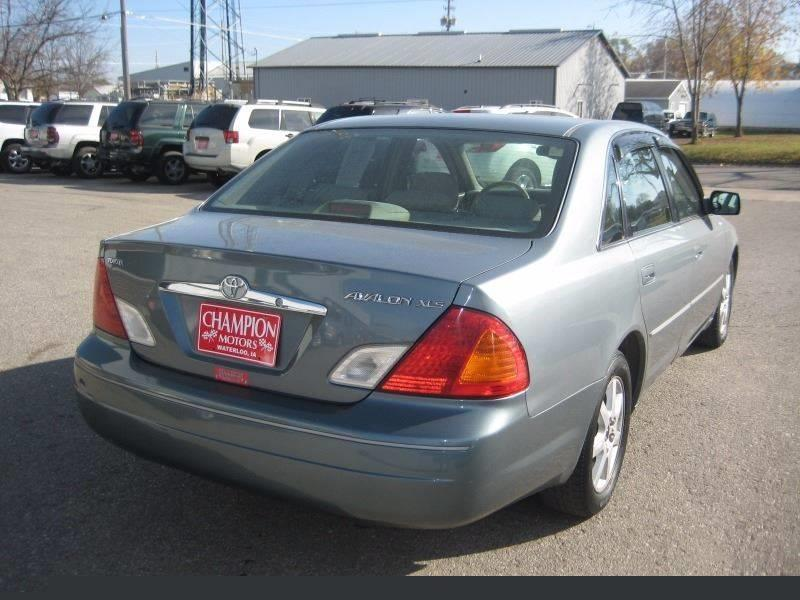 2002 Toyota Avalon For Sale At Champion Motors In Waterloo IA