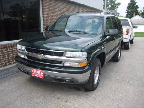 chevrolet tahoe for sale in waterloo ia. Black Bedroom Furniture Sets. Home Design Ideas