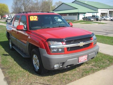 Chevrolet avalanche for sale in waterloo ia for Champion motors waterloo iowa
