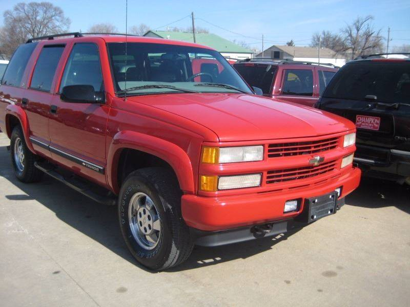 2000 Chevrolet Tahoe LimitedZ71 Z71 In Waterloo IA  Champion Motors