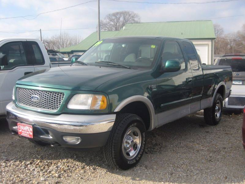 1999 ford f 150 work in waterloo ia champion motors for Champion motors waterloo iowa