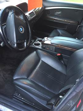 2004 BMW 7 Series for sale at XCELERATION AUTO SALES in Chester VA