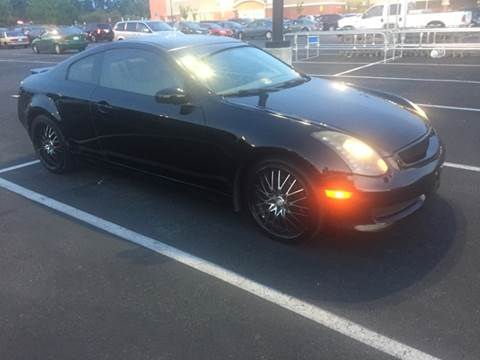 2006 Infiniti G35 for sale at XCELERATION AUTO SALES in Chester VA