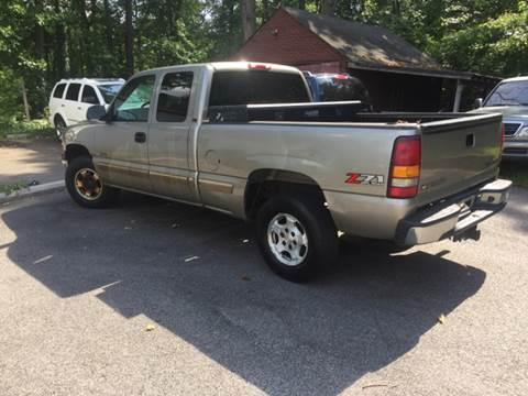 2002 Chevrolet Silverado 1500 for sale at XCELERATION AUTO SALES in Chester VA