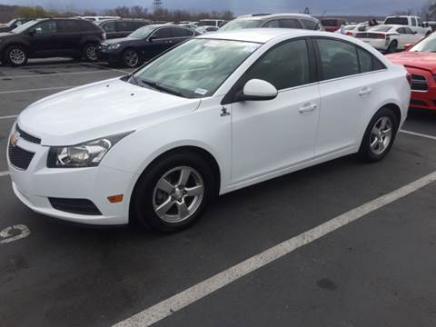 2014 Chevrolet Cruze for sale at XCELERATION AUTO SALES in Chester VA