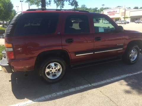 2001 Chevrolet Tahoe for sale at XCELERATION AUTO SALES in Chester VA
