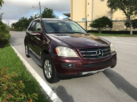 2007 Mercedes-Benz M-Class for sale in Fort Lauderdale, FL