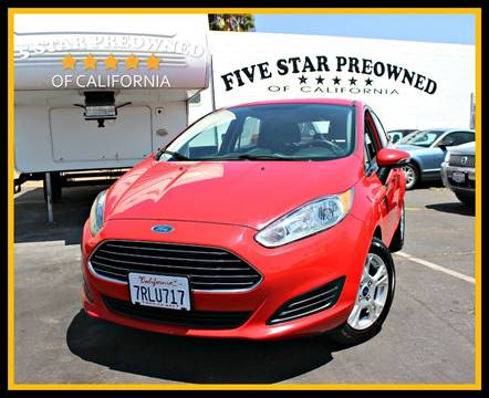 2014 Ford Fiesta for sale in Chula Vista, CA