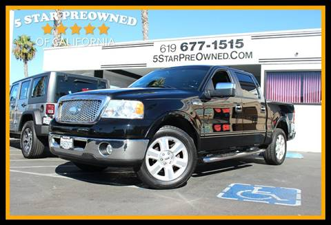 2007 Ford F-150 for sale in Chula Vista, CA