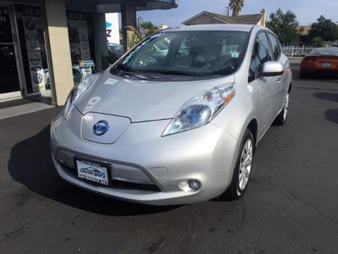 2013 Nissan LEAF for sale in Garden Grove, CA