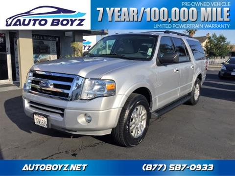 2012 Ford Expedition EL for sale in Garden Grove, CA