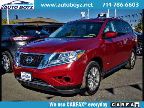 Used Nissan Pathfinder Hybrid For Sale Carsforsale Com