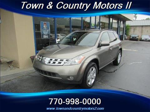 2004 Nissan Murano for sale in Roswell, GA