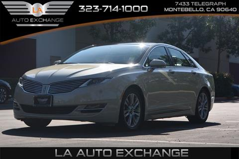 2015 Lincoln MKZ Hybrid for sale in Montebello, CA