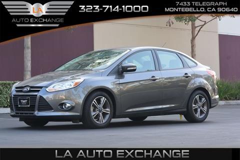 2014 Ford Focus for sale in Montebello, CA