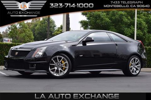 2014 Cadillac CTS-V for sale in Montebello, CA