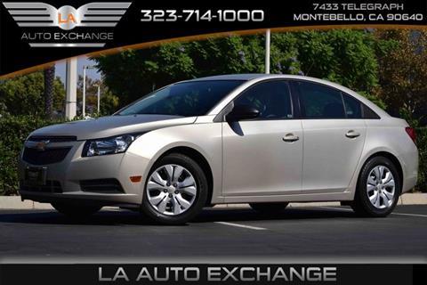 2014 Chevrolet Cruze for sale in Montebello, CA