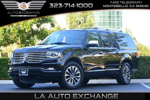 2016 Lincoln Navigator L for sale in Montebello, CA