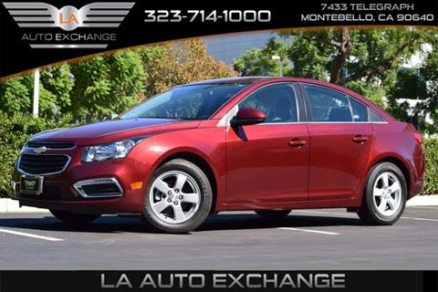 2016 Chevrolet Cruze Limited for sale in Montebello, CA