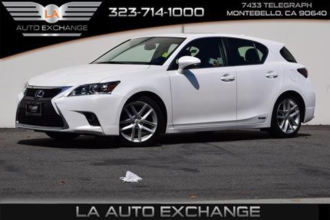 2015 Lexus CT 200h for sale in Montebello, CA