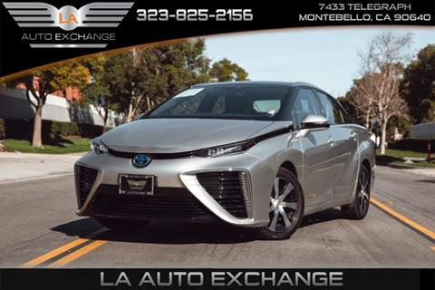 2016 Toyota Mirai for sale in Montebello, CA
