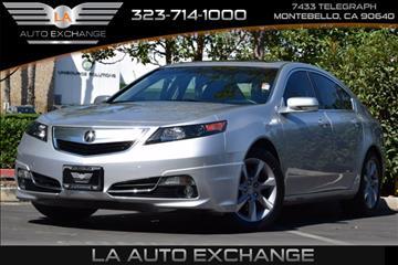 2013 Acura TL for sale in Montebello, CA