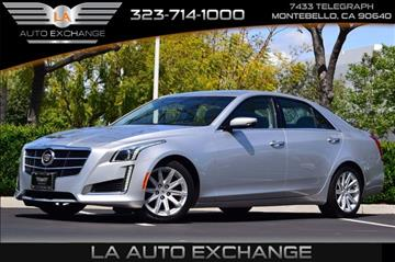 2014 Cadillac CTS for sale in Montebello, CA