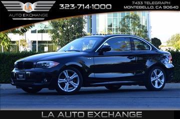 2013 BMW 1 Series for sale in Montebello, CA