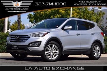 2014 Hyundai Santa Fe Sport for sale in Montebello, CA