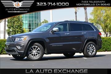 2014 Jeep Grand Cherokee for sale in Montebello, CA