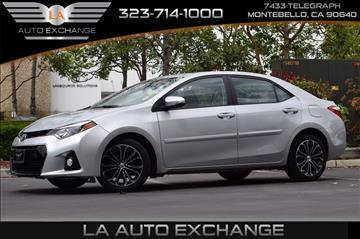 2014 Toyota Corolla for sale in Montebello, CA