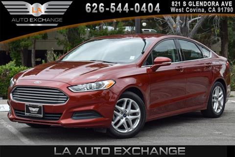 2014 Ford Fusion for sale in West Covina, CA