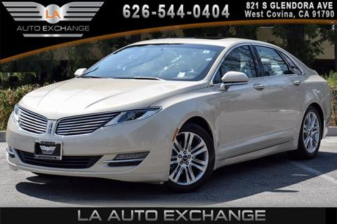 2014 Lincoln MKZ Hybrid for sale in West Covina, CA