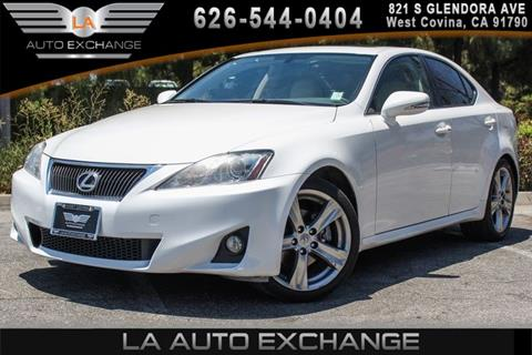 2012 Lexus IS 250 for sale in West Covina, CA