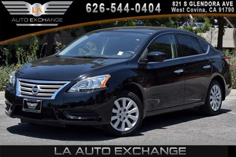 2015 Nissan Sentra for sale in West Covina, CA
