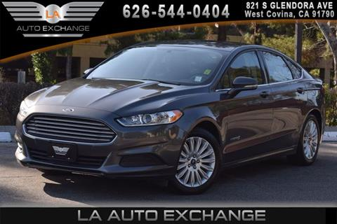 2016 Ford Fusion Hybrid for sale in West Covina, CA