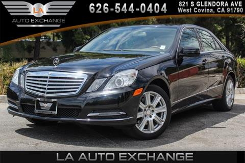 2013 Mercedes-Benz E-Class for sale in West Covina, CA