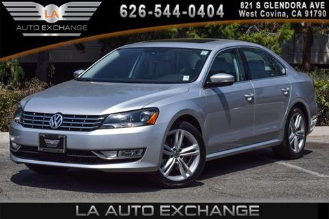 2015 Volkswagen Passat for sale in West Covina, CA