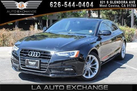2013 Audi A5 for sale in West Covina, CA