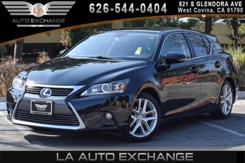 2014 Lexus CT 200h for sale in West Covina, CA