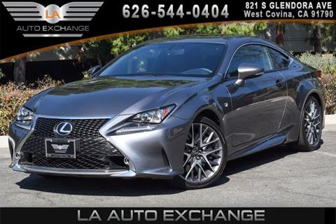 2015 Lexus RC 350 for sale in West Covina, CA