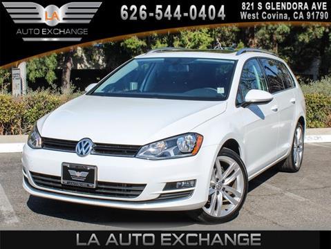 2015 Volkswagen Golf SportWagen for sale in West Covina, CA