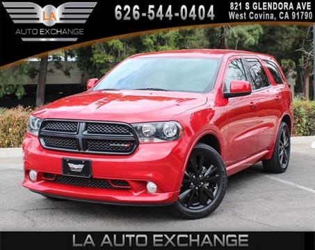 2013 Dodge Durango for sale in West Covina, CA