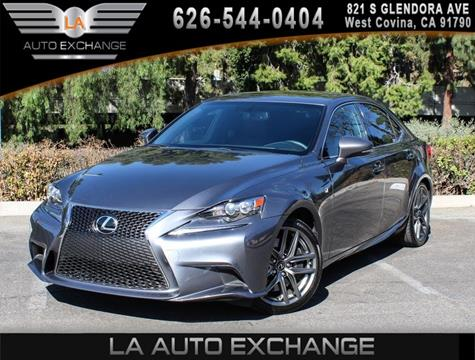 2015 Lexus IS 350 for sale in West Covina, CA